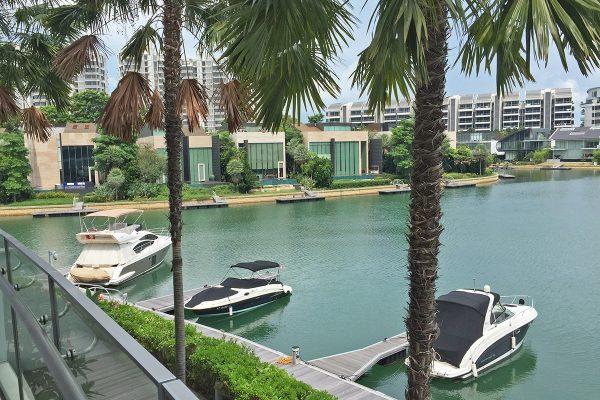 Turquoise Sentosa Cove - Waterway View / Private Berth