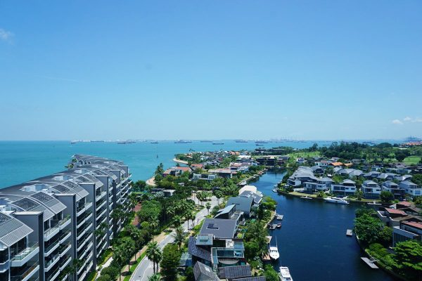 Cape Royale Sentosa Cove - Amazing Cove View