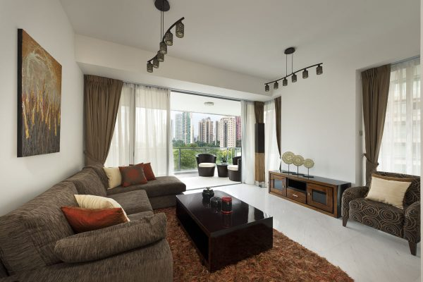 Paterson Suites, Singapore - Spacious Living Room