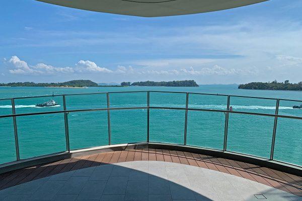 Seascape Sentosa Cove - Living Room Balcony