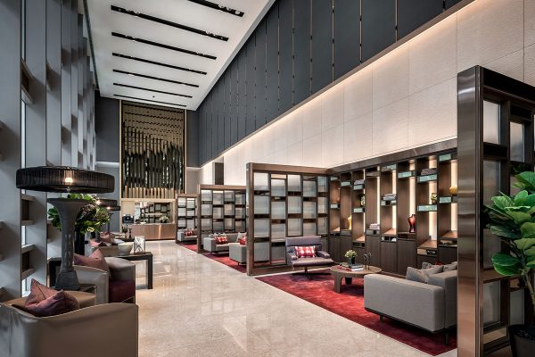 Wallich Residence, Singapore - Library
