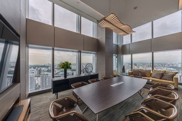 Wallich Residence, Singapore - Networking Suite