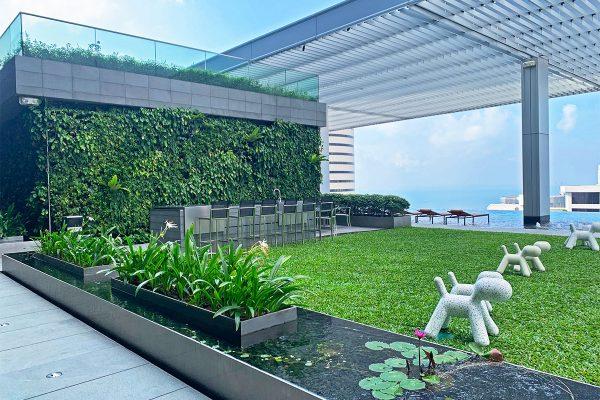 Wallich Residence, Singapore - Pool Area